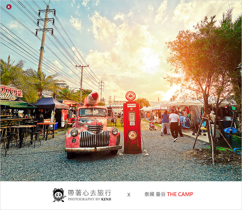 2018泰國曼谷市集 | The Camp Vintage Flea Market(恰圖恰)-喜歡懷舊古物、復古風格相當濃厚的跳蚤市場、愛挖寶的人必去聖地。