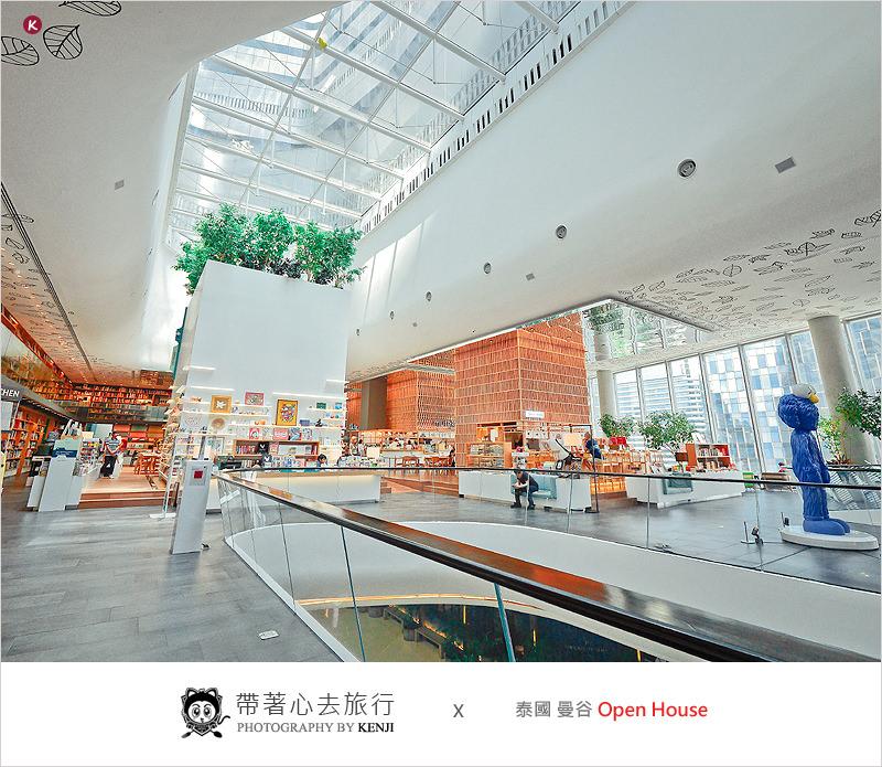 泰國曼谷自由行 | Open House(Central Embassy)-泰國版蔦屋書店,文青派必去的時尚書店。